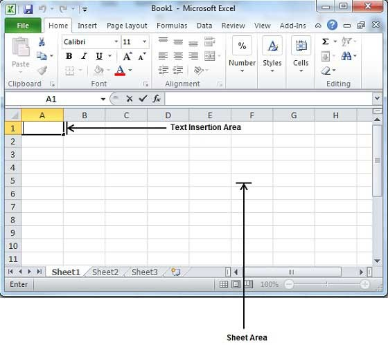 Create a Excel sheet 1