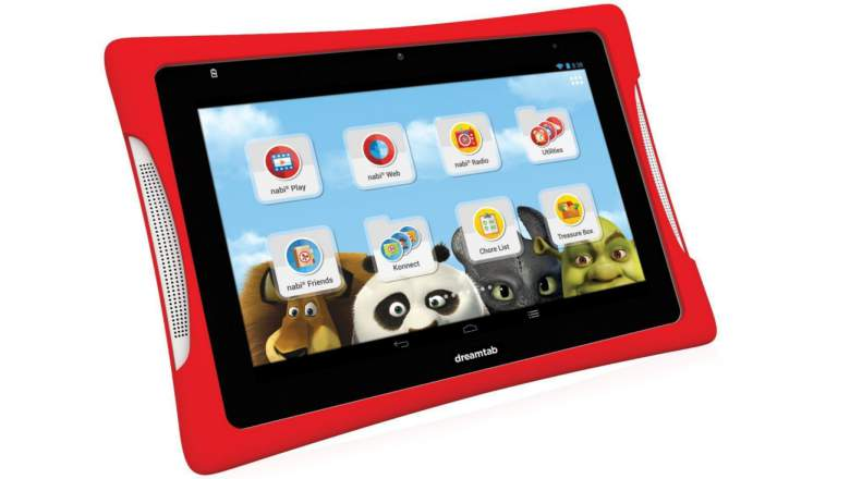 2. nabi DreamTab HD8