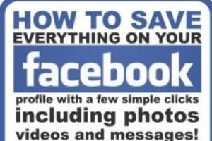 Download facebook archive image