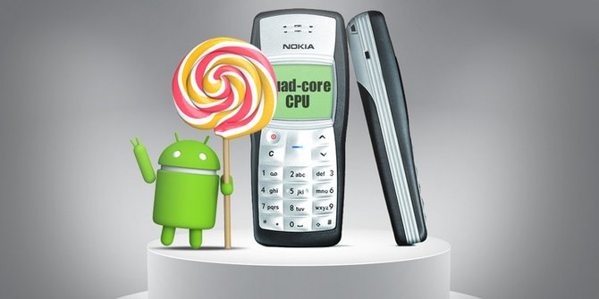 Nokia 1100 Android –