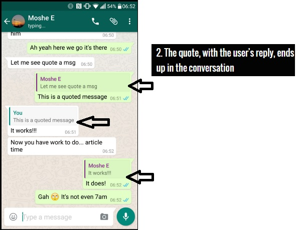 Whatsapps Quick Quotes 2